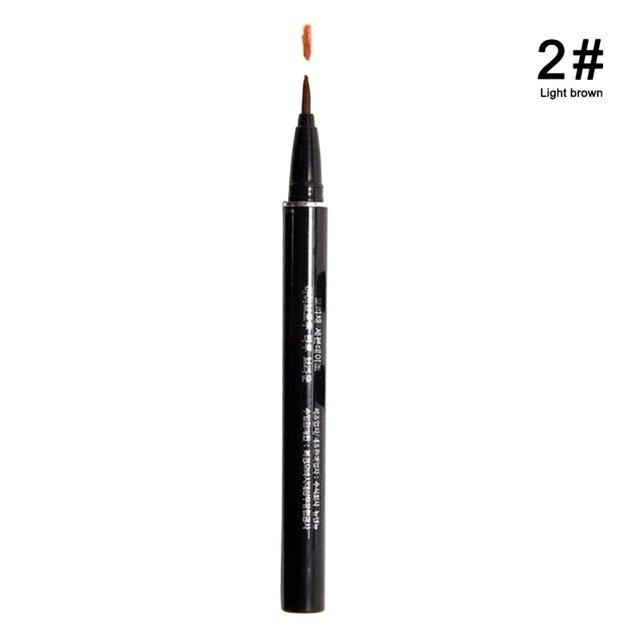1Pc Profession Women Makeup Product Waterproof Brown 7 Days Eye Brow Eyebrow Tattoo Pen Liner Long Lasting Makeup Women Gifts - Deals Blast