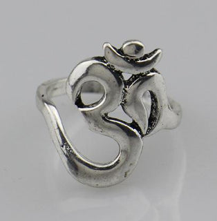 Ring Hinduism Yoga India Outdoor Sport Women/Men Ring Religious Symbol Jewelry