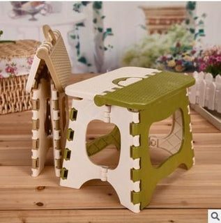Folding Children Portable Picnic Thicken Plastic Stool