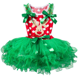 Fashion Summer Girls Dress Princess Wedding Dresses Sequins Girls Clothes Kids Clothing Christmas Children Party Costume