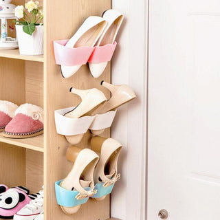 Bathroom Storage Shelf Suction Wall Shoe Rack: Deals Blast