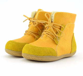 Children Genuine Leather Winter Boots