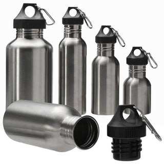 Stainless Steel Wide Mouth Drinking Water Bottle Outdoor Travel Sports Cycle Drink Bottles Kettle Outdoor Tools