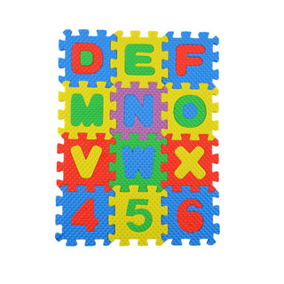 A-Z Alphabet Letters Numeral Foam Mat Play Mat Colorful Puzzle Kid Educational Toy: Deals Blast