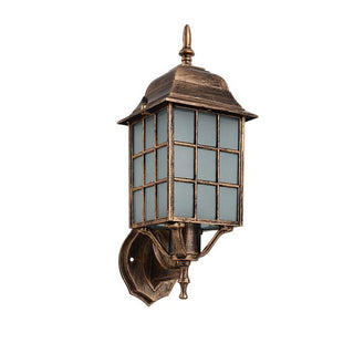 American Bronze Aluminum Waterproof Wall Lamp: Deals Blast