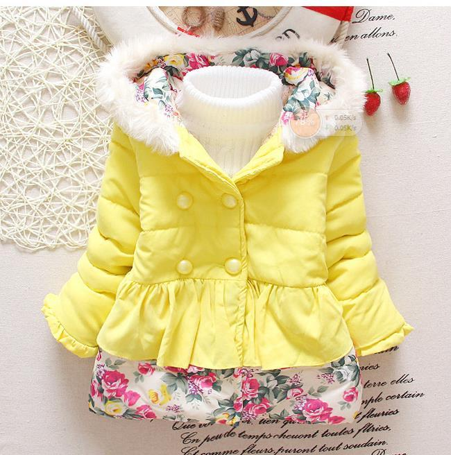 b5cc46247 Baby Girl s Jackets Winter Jackets Parkas For Kids Children s Clothing