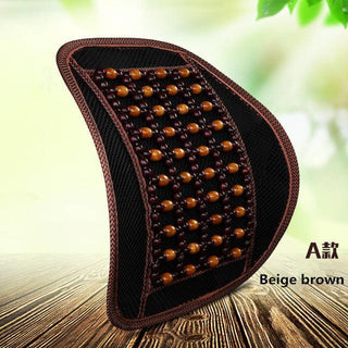 Wood Beaded Car Seat Cover