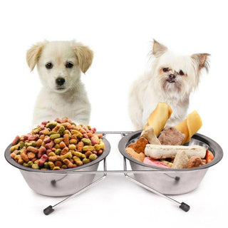 Dog Food Bowl Stainless Steel Dish feeder - Deals Blast