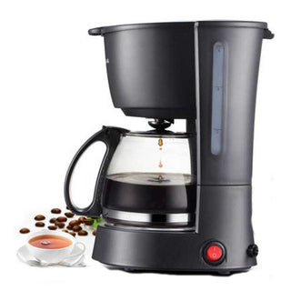 Electric Coffee Maker Machine Household Fully-Automatic Drip coffee maker 600ml Tea Coffee Pot