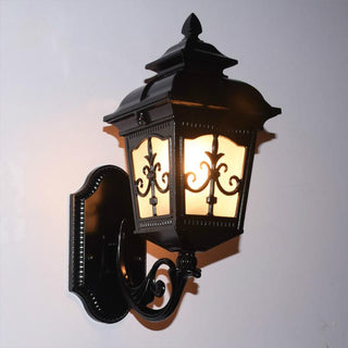Vintage Bronze Aluminum Villa Waterproof Outdoor Wall Lamp - Deals Blast