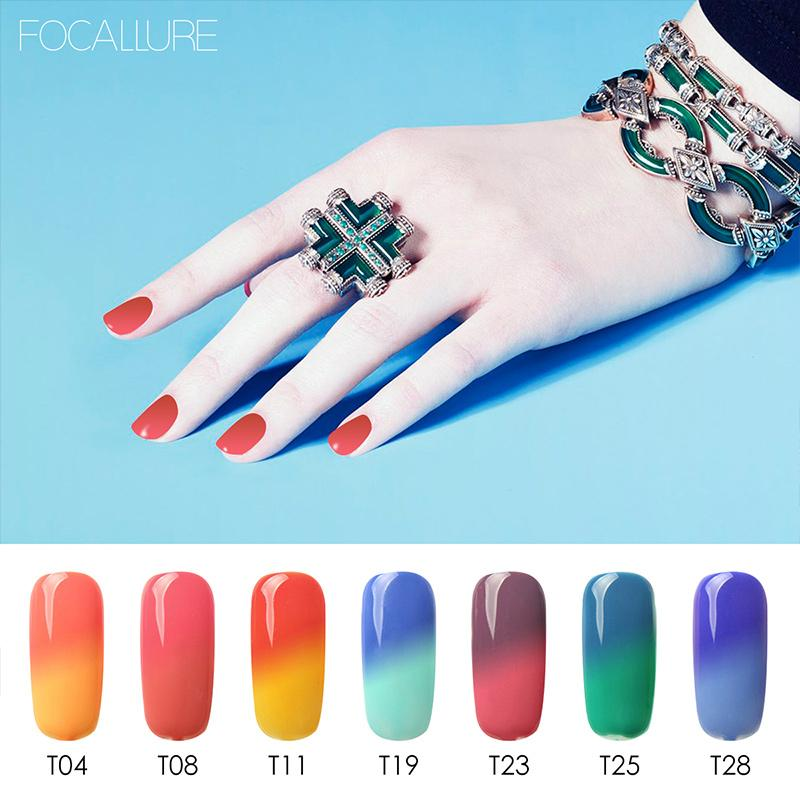 Temperature Color Changing Nail Polish Thermal Color Change UV Gel