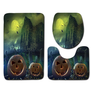 Halloween Inspired Non Slip Bathroom Mats - Deals Blast