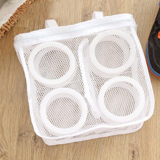 Fashion Storage Organizer Mesh Laundry Shoes Portable Washing Bags