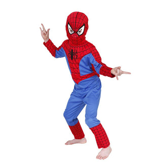 Spiderman Child Costume Kids boys Halloween party Fancy Dress