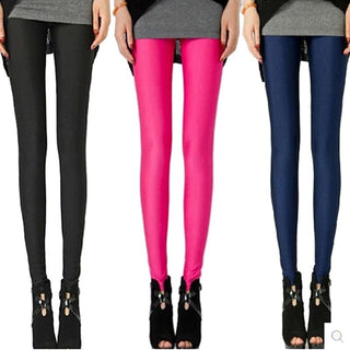 Summer Spring Candy Color Fashion Women's Leggings: Deals Blast