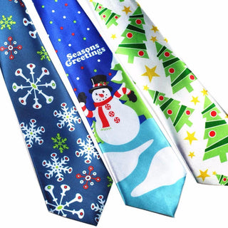 Christmas Tie Style Men's Fashion Neckties Helloween Festival