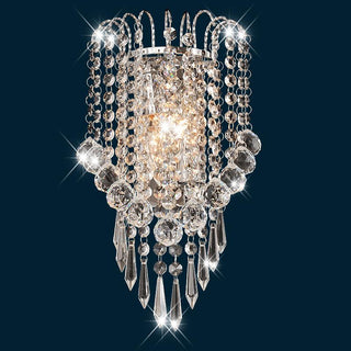 Luxury Modern Crystal crown Bedroom Bedsides Wall Lamp - Deals Blast