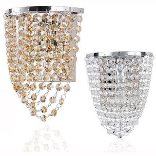 Luxury Princess Crystal Hanging Wall Light - Deals Blast