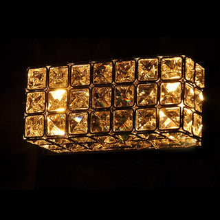 Modern Square Box Crystal Corridor Wall Lights - Deals Blast