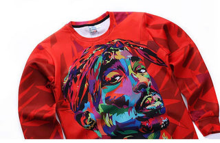 3D print hip hop Rapper Hoodies Sweatshirts for Men and Women: Deals Blast
