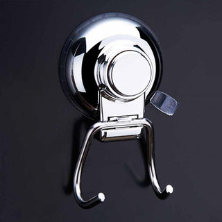 Non-Punching Strong Sucker Hook Bathroom Kitchen Wall Stainless