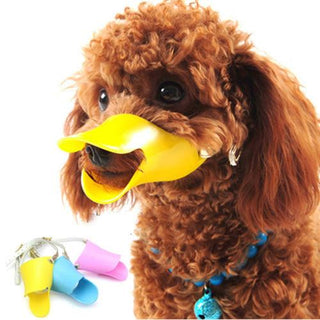 Novelty Cute Duckbilled Dog Muzzle Bark Bite Stop - Deals Blast