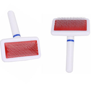 Hair Brush Comb Plastic Handle For Small Dog & Cats - Deals Blast