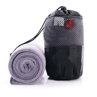 Portable Quick-Drying Towel Popular Beauty Microfibre Towel With The Bag Outdoor Sports Yoga Camping Travel Towels: Deals Blast
