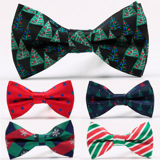 Christmas Bow Ties Fashion Bowties For Men's