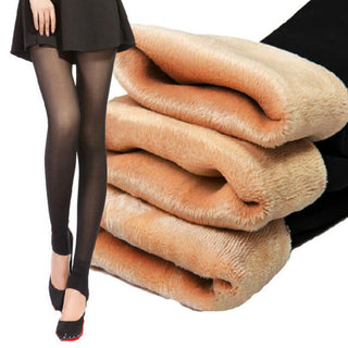 Spring Winter Thick Velvet Warm Leggings