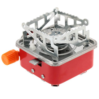 Camping Stove Folding Gas Stove Furnace 2800W Outdoor Stove Picnic Cooking Gas Burners Backpacking Furnace Butane