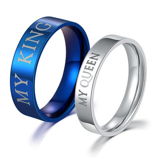 Stainless Steel Couple Rings For Lovers