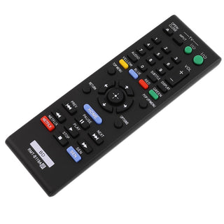 Universal Blue-Ray DVD Player Replacement Remote Control For Sony BDP-BX110/BDP-BX310/BDP-BX510/BDP-BX59 Black - Deals Blast
