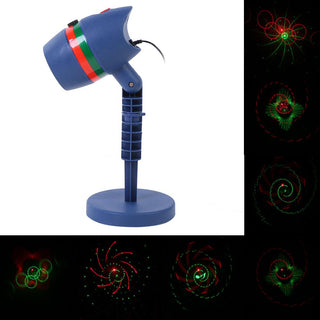 Waterproof LED Laser Star Light Projector Showers Garden Lighting Outdoor Grass Landscape Lamp Holiday Christmas Decoration - Deals Blast