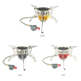 Windproof Burner Heating Stove Infrared Ray Heater Camping Warmer Heating Gas Stove for Winter Camping Outdoor Fishing: Deals Blast