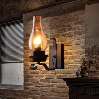 New American Vintage Personalized Clear Iron Wall Lamps: Deals Blast
