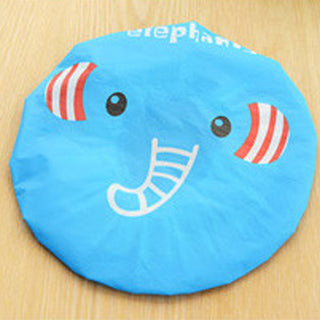 Deals Blast: Shower Hat Waterproof Shower Hat Lace Elastic Band Hat Bath Cap Cute Cartoon Women Ladies Caps Bath Hats Bathroom Accessories Deals Blast