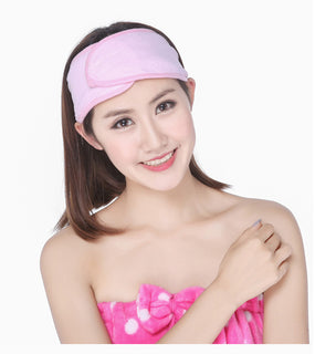 Deals Blast: New Spa Bath Shower Make Up Wash Face Cosmetic Headband Hair Band Deals Blast