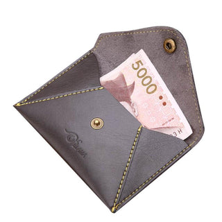 Deals Blast: Men Card Cash Receipt Holder Organizer Bifold Button Wallet Purse men wallets famous brand carteira masculina: Deals Blast