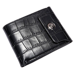 Deals Blast: Men Leather Clutch Pockets Wallet ID Bifold Business Credit Wallet Zip Coin Pocket Purse famous brand Wallet For Mensa Deals Blast