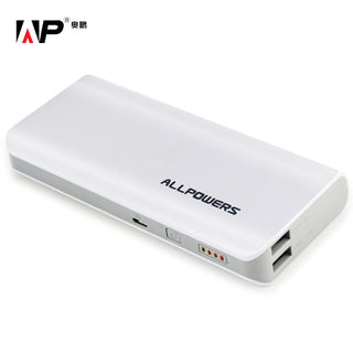 ALLPOWERS 15600mah Phone Charger External Battery Pack for iphone sumsung HTC motorola  sony and Most USB Device Free Shipping: Deals Blast