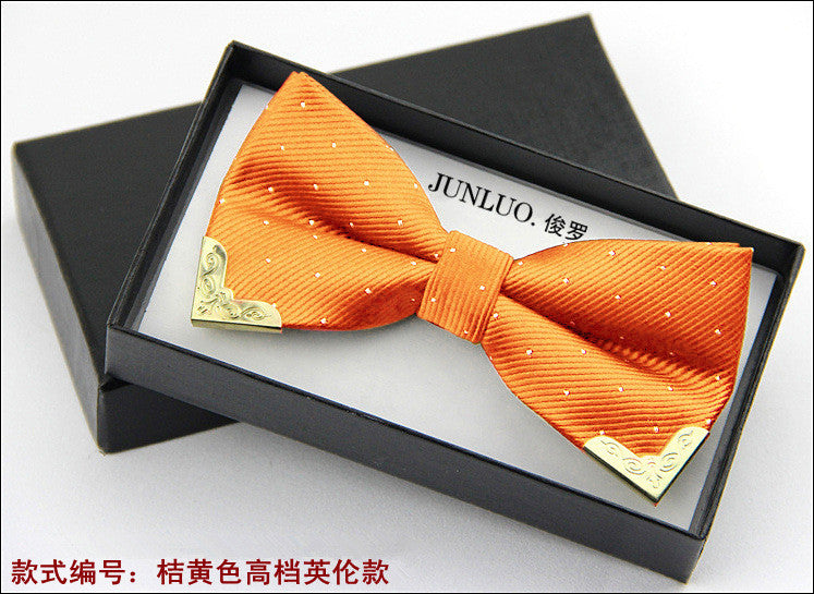 1 piece fashion new brand bow tie polyester silk butterfly adjustable wedding bow tie bow ties for men 20 colors Deals Blast