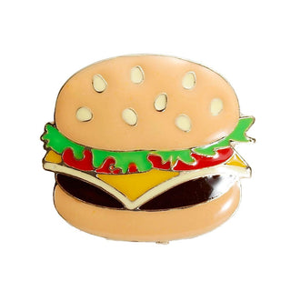 Deals Blast: 2016 Fashion Enamel Food Hamburger/ Pizza/ Hot dog/ Poached Egg Zinc Alloy Brooch Pins Jewelry Accessories 1 Piece Deals Blast