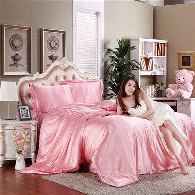 Cheap Luxury Bedding Sets Silk Quilt Duvet Cover Sets Full Queen King Size Bedding Sets Many Luxury Bedding Patterns. Deals Blast