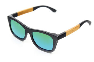 Deals Blast: New fashion Products Men Women Glass Bamboo Sunglasses au Retro Vintage Wood Lens Wooden Frame Handmade Deals Blast