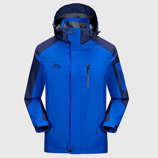 Spring Jacket New 6 Colors Hood Fashion Windproof Windbreaker Jacket Men Breathable Mens Jackets And Coats Size L-5XL Deals Blast