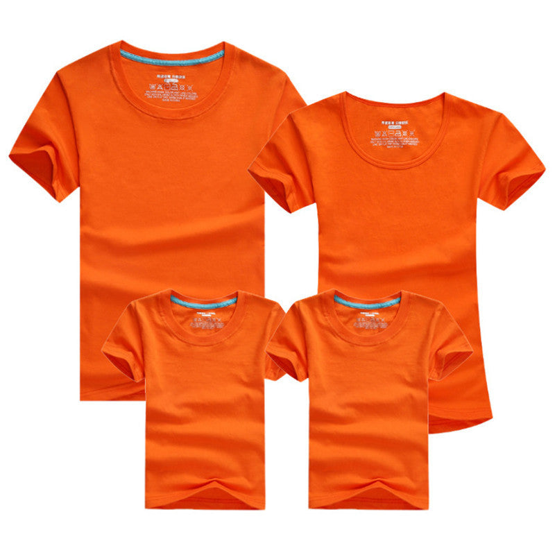 1pc Family Matching Baby And Mother Matching Clothes Solid Short Sleeve Couple T Shirt Bambino E La Madre Vestiti Di Corrisponde - Deals Blast