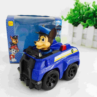 Hot 2016 Kid Car Toys Puppy Patrol dog action figure Patrulla Canina Toys anime with Vehicle Car Spain Patrol Canine Deals Blast