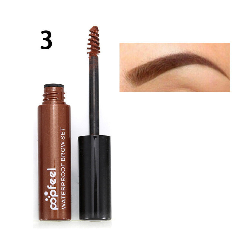 Professional Eye Tint Makeup Cosmetics Long Lasting Natural Black Brown Tint Dye Paint Eyebrows Mascara Color Henna Cream Kit Deals Blast