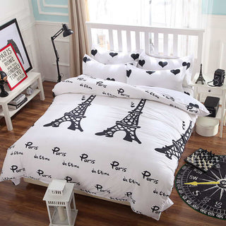 summer style bedding cotton set I love London Duvet Cover set no quilt Comforter cover set quilt cover/ bed sheet/Pillowcase Deals Blast